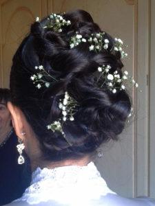Tina fiorito acconciatura sposa raccolto