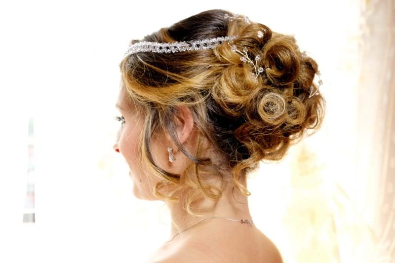 Acconciatura sposa napoli tina fiorito hair stylist la maison de la beautè