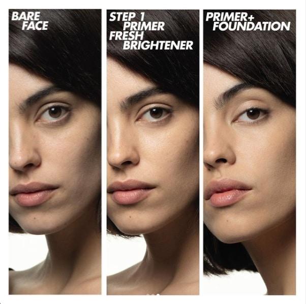 step 1 primers - make up for ever - tina fiorito