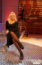 TINA FIORITO Make Up Gabriella Di Luzio per la trasmissione A Reti Unificate